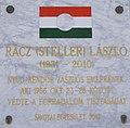 Rácz László rendőr zászlós emléktábla, Kossuth Lajos utca 22, 2018 Ráckeve.jpg