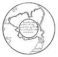 RAINAUD(1893) Fig. 26. La terre australe sur la mappemonde mercatorienne de 1538.jpg