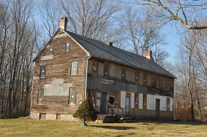 Knowlton Township, New Jersey - Ramsayburg Homestead, listed on the National Register of Historic Places