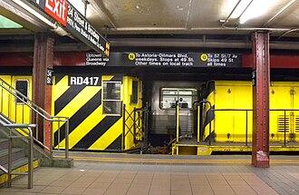 Work train - A New York City Subway work train