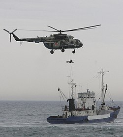 Black Sea region countries' frontier services hold drills in Sochi during 11th Partnership Forum