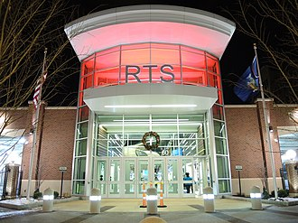 Downtown Rochester - Image: RTS Transit Center St Paul Street Entrance