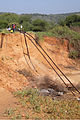 Rail tracks in Tanzania damaged by flood.jpg