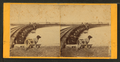 Railroad bridge with a dog in the foreground, by Root, Samuel, 1819-1889.png