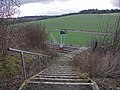 Railway Footpath Crossing, West Wycombe - geograph.org.uk - 107371.jpg