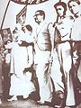 Rally on 21Feb1954 Abdul Hamid and Bangabandhu.jpg
