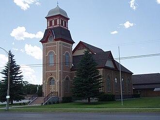 Randolph, Utah - The Randolph Tabernacle, an early Latter-day Saint meetinghouse