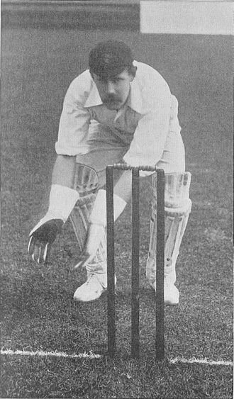 Bill Storer - Image: Ranji 1897 page 041 Storer waiting for the ball