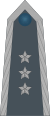 Rank insignia of chorąży sztabowy of the Air Force of Poland.svg