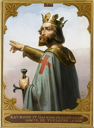 Toulouse - Raymond IV, Count of Toulouse was a leader of the First Crusade