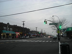 Ozone Park, Queens - Rockaway Boulevard in South Ozone Park