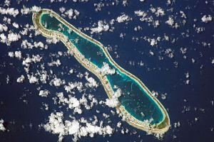 Reao - NASA picture of Reao Atoll