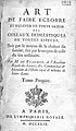"""Reaumur """"Art de faire eclorre..."""", title page Wellcome L0000558.jpg"""