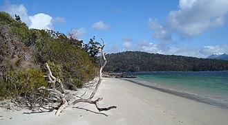 Cyprus mutiny - Recherche Bay, Tasmania, where the convicts took control of the brig