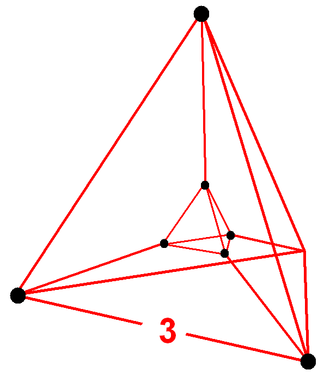 Uniform 5-polytope - Image: Rectified 5 simplex verf