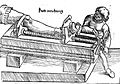 Reduction of of dislocated leg, 16th Century Wellcome L0008810.jpg