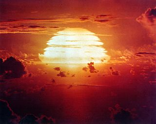 Operation Redwing series of 17 nuclear test detonations conducted by the United States in 1956