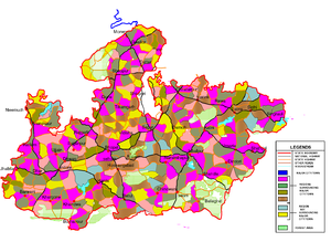 Unified settlement planning - The regional modules in Madhya Pradesh(India)