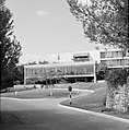 Rehovot Weizmann Institute het restaurant op het terrein van het instituut, Bestanddeelnr 255-3883.jpg