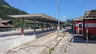 Reichenbach im Kandertal railway station railway station in Switzerland