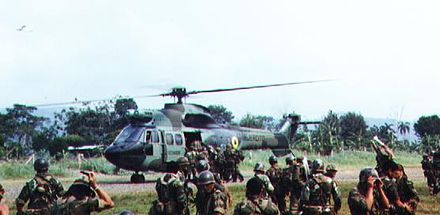 Ecuadorian troops during the Cenepa War Relevo-ecu.JPG