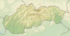 Mapa lokalizacyjna Słowacji