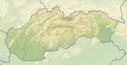 Krupina is located in Slovakia