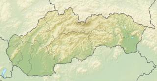 High Tatras mountain range along the border of Slovakia and Poland