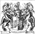 Remarkable antiquities of the city of Exeter- giving an account of the laws and customs of the place; the offices Fleuron T140196-2.png