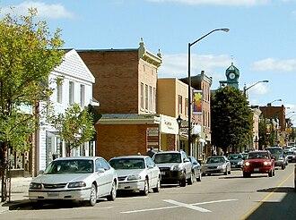 Renfrew, Ontario - Raglan Street in the centre of Renfrew