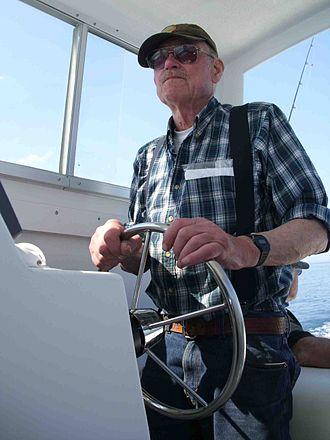Tolman Skiff - Renn Tolman on Lake Michigan March 2012