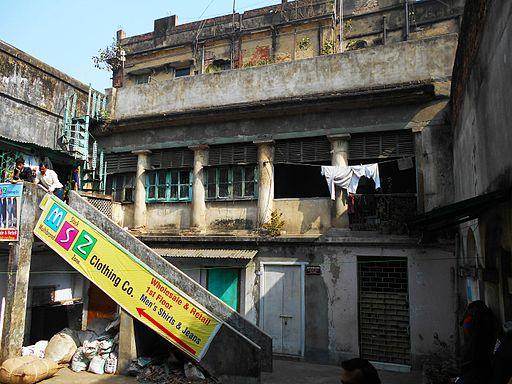 Residence of Micheal Madhusudhan Dutt in Khidirpur