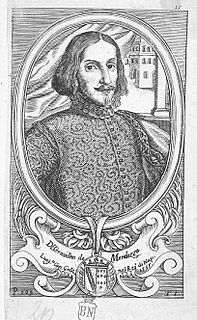 Bernardino de Mendoza (Captain General) Spanish aristocrat
