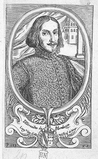 Bernardino de Mendoza (Captain General) - Image: Retrato de Bernardino de Mendoza
