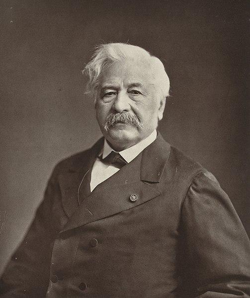 Ferdinand de Lesseps.