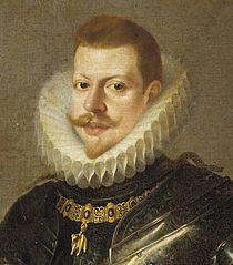 Felipe III por Pedro Antonio Vidal.