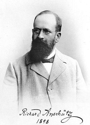 Richard Anschütz - Image: Richard Anschütz 1898