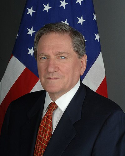 Richard Holbrooke, American diplomat and author
