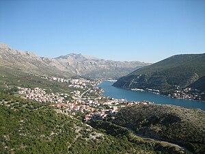 Ombla - Rijeka Dubrovačka—a ria formed by the Ombla