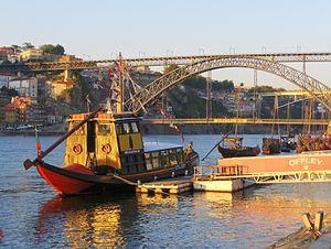 Douro river in Oporto