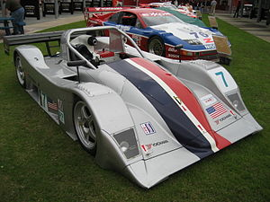 Risi Competizione - One of a pair of Lola B2K/40-Nissans which Risi Competizione ran for Rand Racing in 2002