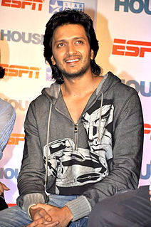 Riteish Deshmukh Indian actor