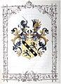 Ritterstandsdiplom - Benesch 1865 - Wappen.jpg