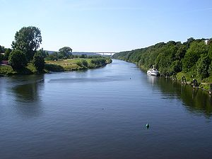 Ruhr (river) - The Ruhr in Essen-Kettwig.