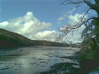 River Fal - The River Fal at Devoran