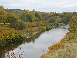 River Croal - River Croal at Little Lever