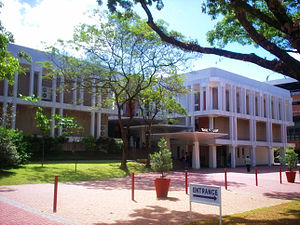 History of the Ateneo de Manila - Image: Rizal Library