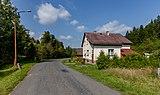 Road III-4875 and a house in Kychová (Huslenky), Vsetín District, Zlín Region, Czech Republic 27.jpg
