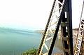 Road cum Rail bridge view at Rajahmundry.jpg