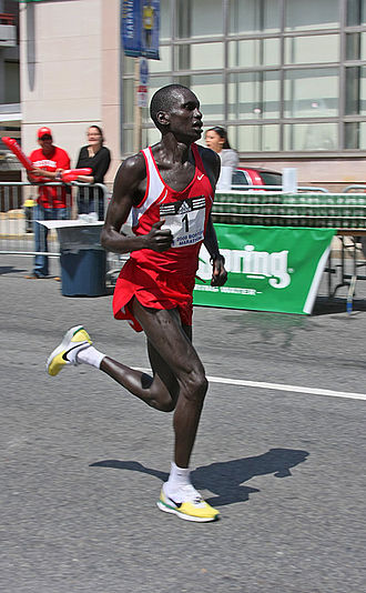 Reims à Toutes Jambes - The 2001 winner Robert Kipkoech Cheruiyot has also won the Boston Marathon.
